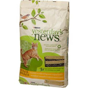 review of yesterdays news cat litter
