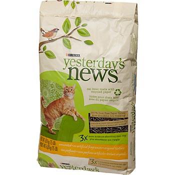 Yesterdays News Cat Litter Review